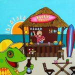 beachbar#iguana#polar#happyart#bonbini (Large)